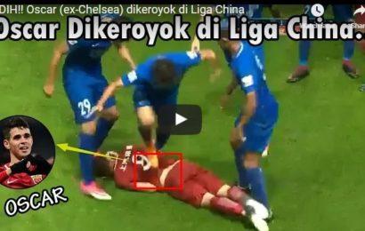 WIDIH!!! Oscar (ex-Chelsea) dikeroyok di Liga China…tonton yuk..